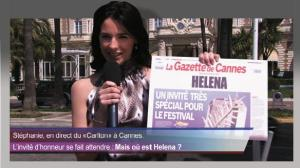 Helena la star de Cannes
