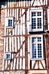 Maison à pan de bois, Rennes