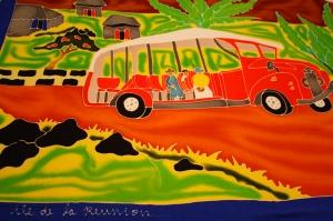 Paréo de l'île de la Réunion